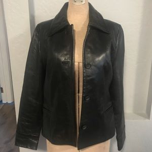 90's Guess Leather Jacket
